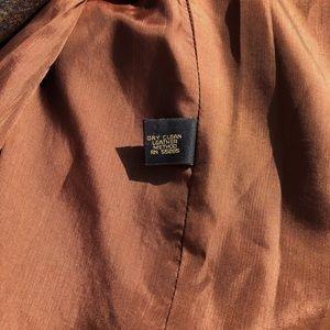Vintage Jackets & Coats - Vintage Campaign Int. Leather Collar Wool Blazer
